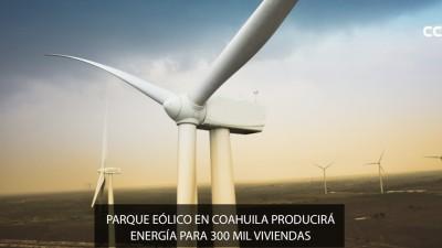 Coahuila apuesta por las energías renovables